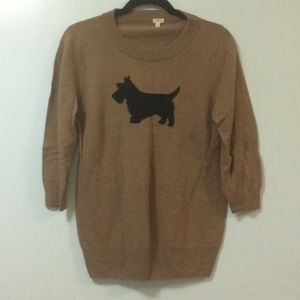 J.Crew Factory Dog Sweater